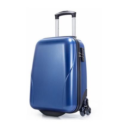 新款22寸爬梯輪登山箱商務休閑旅行箱防刮蜂窩紋萬向輪拉桿箱定制