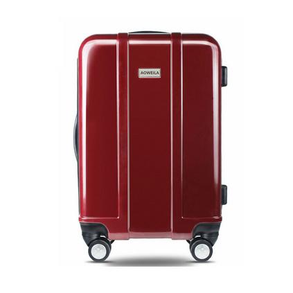 奧維拉20寸行李箱abs+pc旅行箱包時尚潮流商務登機箱萬向輪拉桿箱定制