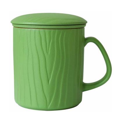 馬克杯帶蓋帶過濾泡茶杯定制