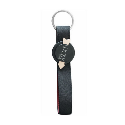 Lucky指尖陀螺鑰匙扣個性創意時尚簡約潮玩幸運鑰匙鏈掛件定制