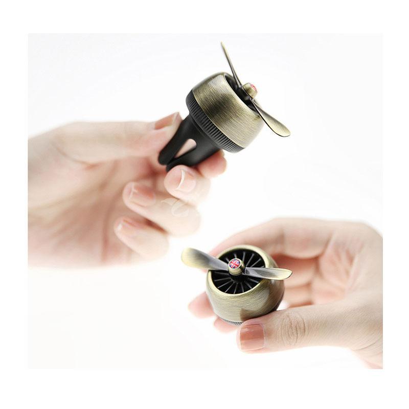 空军二号汽车香氛车载出风口香水挂件香油扩香器定制