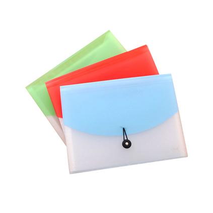 文件夾多層學生用分類收納盒a4試卷袋票據夾發票檔案夾透明風琴包定制