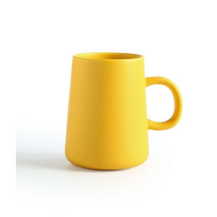 ins簡約杯子北歐陶瓷馬克杯 創意家用陶瓷杯子辦公水杯印logo定制