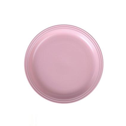 北歐啞光盤7.4寸陶瓷盤子西餐深盤圓形菜盤餃子盤家餐具定制
