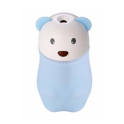 小兔熊熊小動物彩色夜燈空氣香薰機迷你加濕器定制