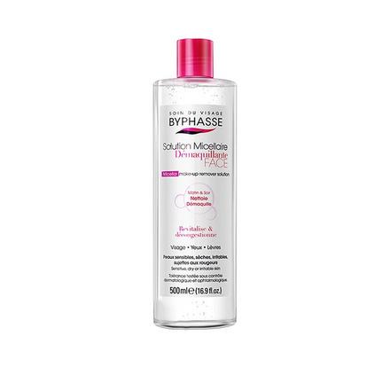 蓓昂斯(BYPHASSE)卸妝水500ml西班牙溫和養膚不刺激多效卸妝水定制