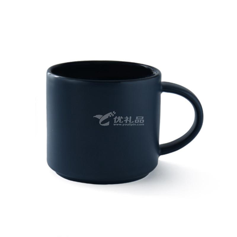ins磨砂纯色马克杯陶瓷咖啡杯家用欧式北欧亚光简约杯子现货定制