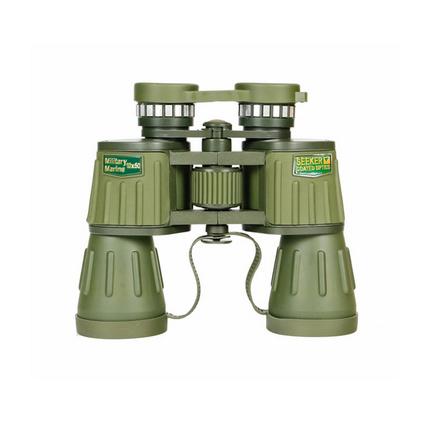 大目鏡10x50雙筒望遠鏡微光夜視軍綠色望遠鏡定制