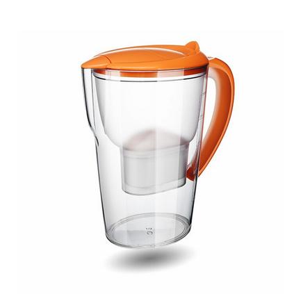 沁園凈水杯 QB-CT-101A 橙色 一壺三芯凈水壺定制