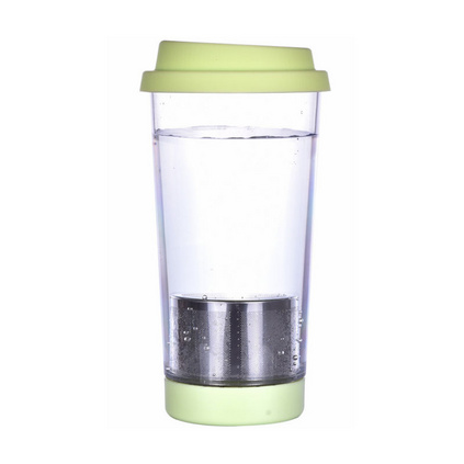 帶茶漏便攜運動水杯多色可選男女創意塑料促銷廣告杯定制