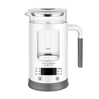 生活元素i13養生壺0.6L迷你多功能玻璃煮花茶壺煮茶器電熱燒水壺定制