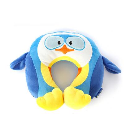 英國TravelBlue/藍旅兒童多功能u型枕卡通玩偶靠枕可愛飛機旅行枕頸枕定制