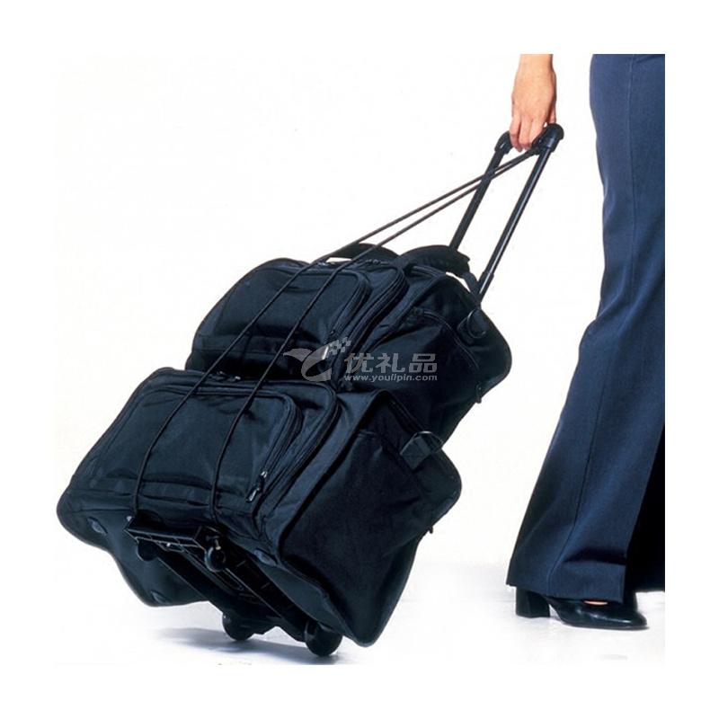 英国TravelBlue/蓝旅 折叠行李车手拉车小拖车旅行拉杆车机场轻便购物573行李车定制