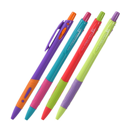 旁跳塑料圆珠笔 0.7mm 创意广告圆珠笔简易感叹号圆珠笔宝珠笔定制