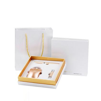 辦公商務禮盒套裝無線鼠標簽字筆手機U盤禮盒定制