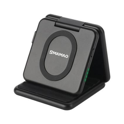 無線充移動電源手機通用折疊充電寶無線充電器定制
