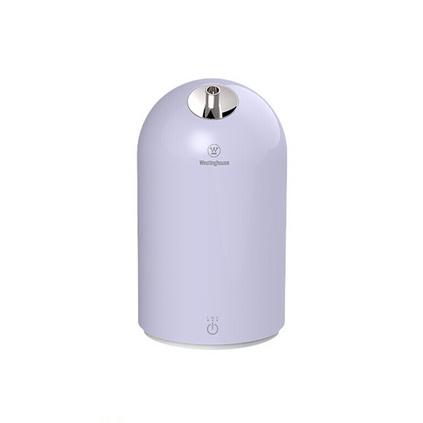 美國西屋加濕器 WHU-1800 小型臥室家用嬰兒辦公桌面空調空氣香薰加濕 三擋霧量 雪青紫  定制