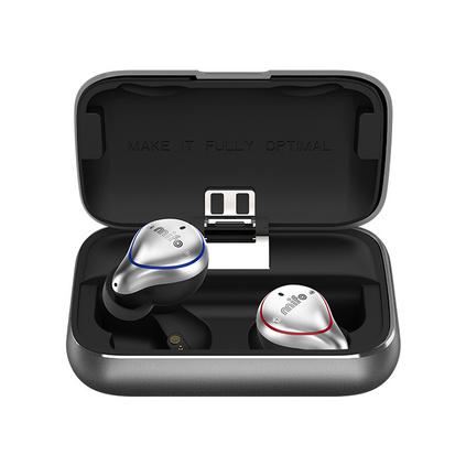 魔浪O5智能無線藍牙耳機 跑步運動防水迷你隱形耳塞入耳式雙耳通話音樂聽歌通用藍牙耳機定制