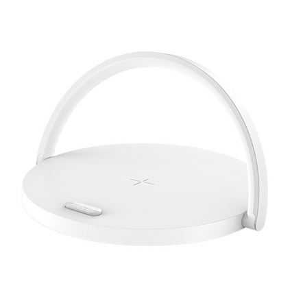 創意無線充電器桌面級無線充氛圍燈智能小臺燈多功能手機無線充電器定制