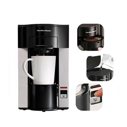 美国汉美驰 美式免滤纸家用单杯滴漏式咖啡机定制