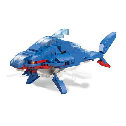 飛鳥積木扭蛋兼容樂高海底總動員動物拼裝啟蒙益智6合1合體玩具定制