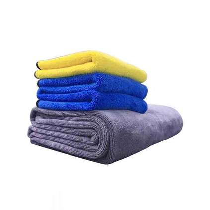 西屋洗車毛巾 雙層雙色 加厚珊瑚絨擦車布 吸水毛巾 VT-3060160    定制