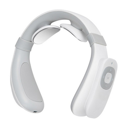三和松石 SH-J330 頸椎按摩器辦公室護頸儀熱敷U型枕充電便攜智能肩頸肩部頸部按摩枕護頸儀定制