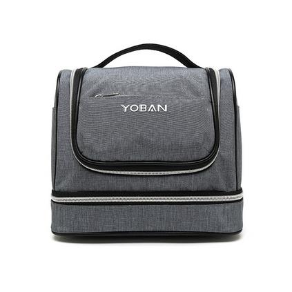 大容量化妝包多功能旅行收納包防水掛鉤便攜式雙層洗漱包定制