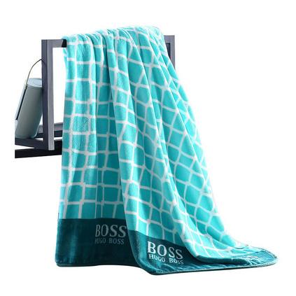 HUGO BOSS MASH絲絨毯HBMT-012 企業員工福利禮品定制 絲絨毛毯定制