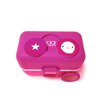 法國monbento雙層兒童飯盒日式防燙便當盒微波爐加熱午餐保溫學生便攜 兒童飯盒  定制