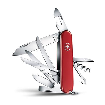 维氏(VICTORINOX)瑞士军刀 都市猎人91mm(15种功能) 多功能刀户外折叠刀具瑞士军刀小刀具定制
