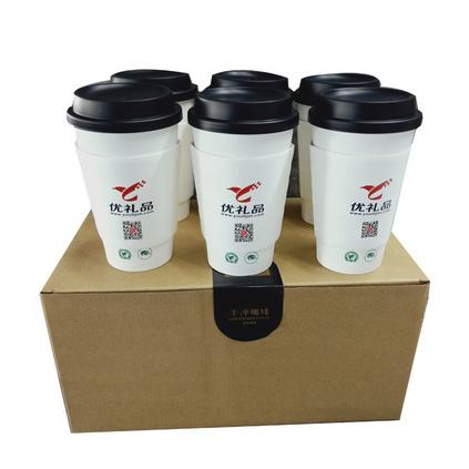 优礼品倾情推出 有机认证咖啡(小罐装)三种风味可供选择 手冲咖啡杯定制 6杯/盒