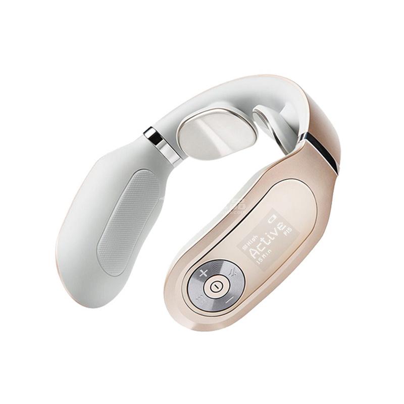 SKG4098 PLUS  頸椎按摩器 頸部按摩儀 脖子牽引器 辦公室護頸儀 熱敷 充電便攜頸部按摩儀定制
