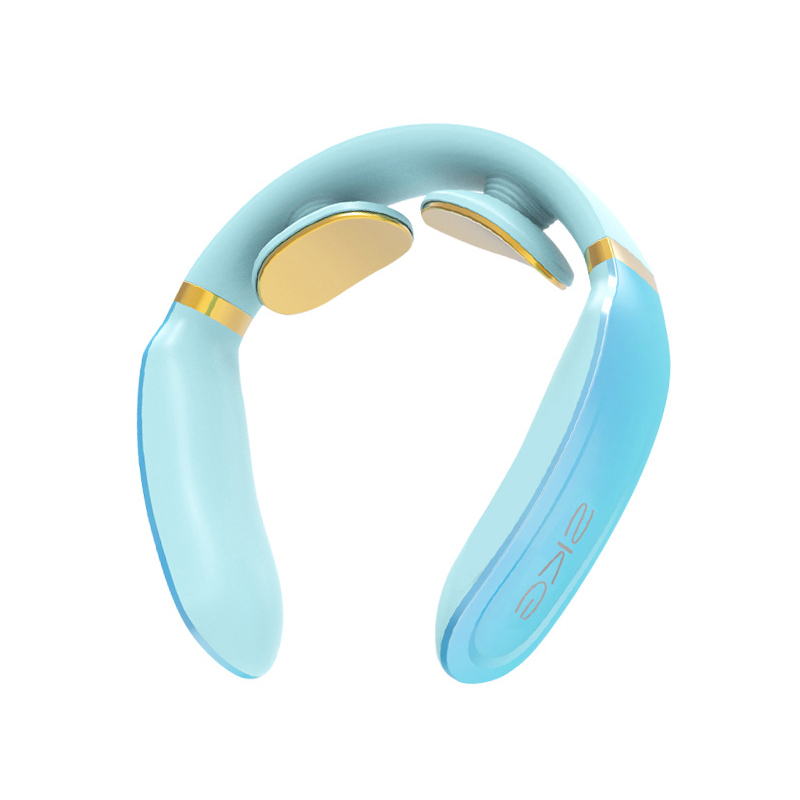 SKG4350 颈椎按摩器 颈部按摩仪 脖子牵引器 办公室护颈仪 热敷 充电便携颈部按摩仪定制