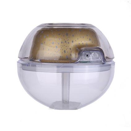 水晶投影加濕器 家用usb迷你大容量空氣加濕器定制