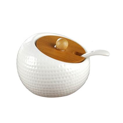 日式陶瓷調味罐三件套創意組合套裝 家用廚房用品陶瓷調料罐定制