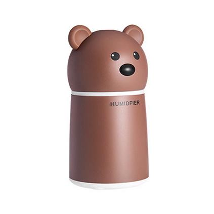 卡通布朗熊加濕器 宿舍家用加濕器 便攜式空氣凈化加濕器定制