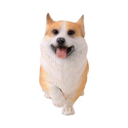 卡通樹脂擺件樹脂寵物狗活動吉祥物樹脂玩偶樹脂工藝品定制