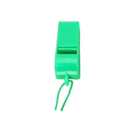 彩色塑料玩具口哨 訓練口哨 塑料口哨 彩色環保帶繩口哨定制
