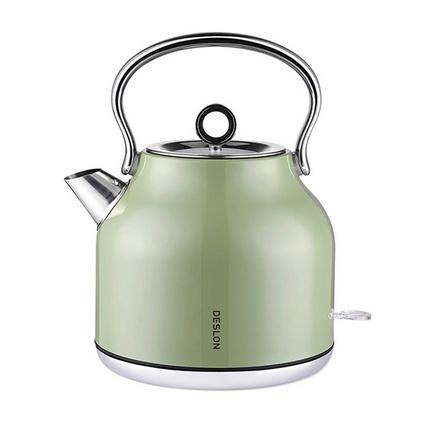 德世朗電熱水壺 DDQ-SH205 大容量304不銹鋼自動斷電家用電熱水壺定制