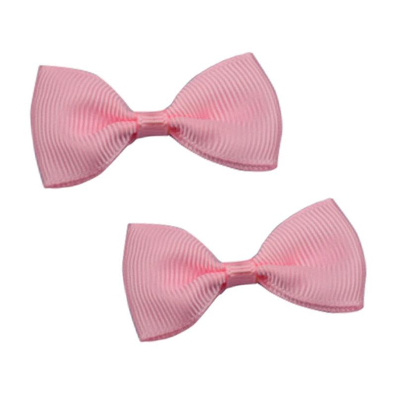 粉色螺紋帶 蝴蝶結絲帶定做兒童發圈裝飾 服裝輔料 手工領結織帶定制