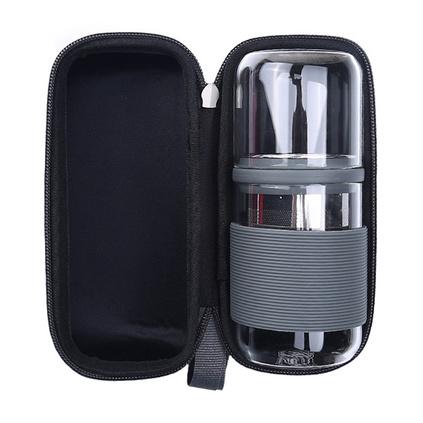 IKE一柯旅行茶具不锈钢滤网茶具 YK-C206A 户外旅行便携式茶具定制