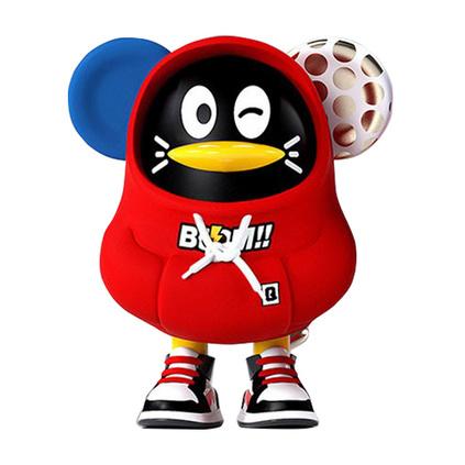 騰訊正版QQfamily手辦 金鼠鵝Mouse-Q系列盲盒 全套6個 創意企鵝手辦定制