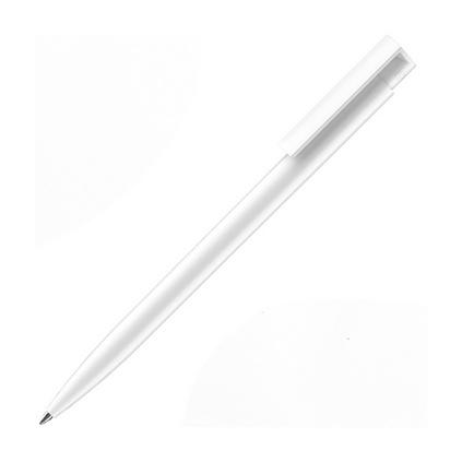New hit實色磨砂圓珠筆按動油性筆 筆芯1.0mm藍色圓珠筆定制
