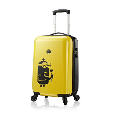 DELSEY&MINIONS法國大使小黃人系列拉桿箱20寸萬向輪拉桿箱定制