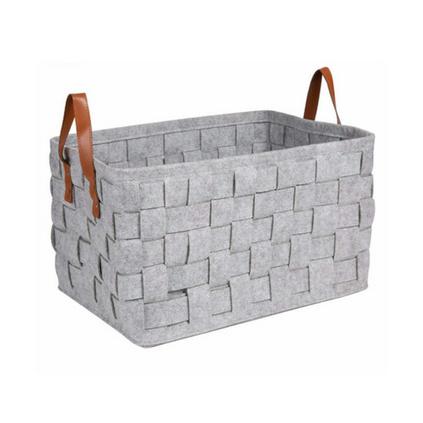 毛毡脏衣篮收纳筐创意家居用品可折叠洗衣篮定制