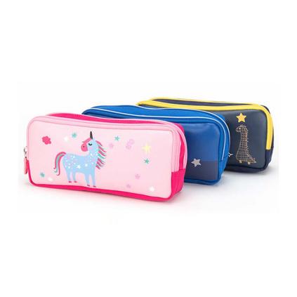 小學生鉛筆盒防水筆袋大容量多隔層兒童筆袋文具袋定制