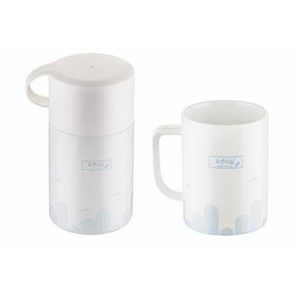 羅斯都市閑情套裝陶瓷杯燜燒罐套裝定制