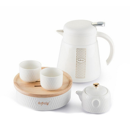 西點休閑時光套裝保溫壺茶具套裝定制