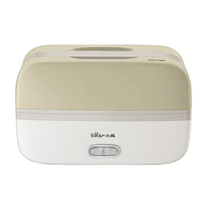 小熊(Bear)电热饭盒 DFH-B10T6 双层不锈钢可插电保温加热便携式抽真空便当盒定制